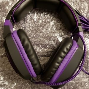 Gaming Headset Purple New in Box